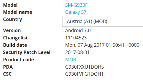 Samsung Soft/Firmware Update! | A1 Community