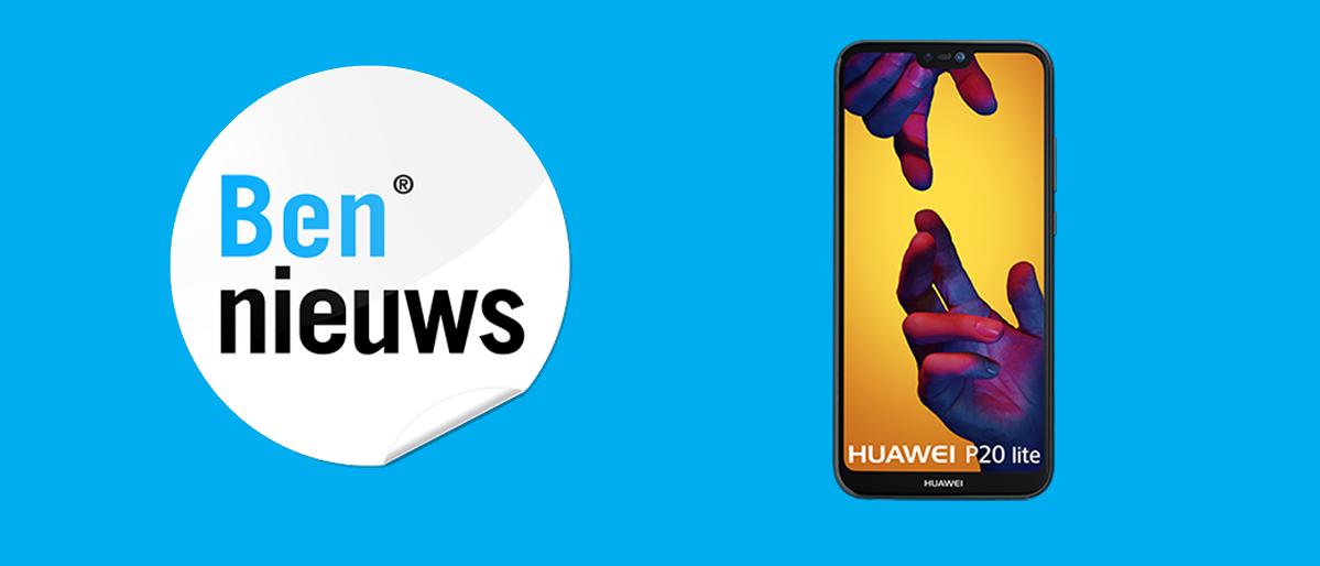 De Huawei P20 Lite getest