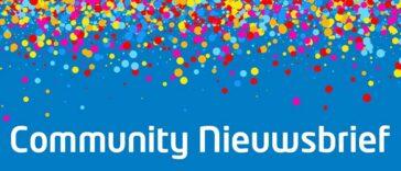 De Community Nieuwsbrief: Draag bij aan een nieuw ontwerp!