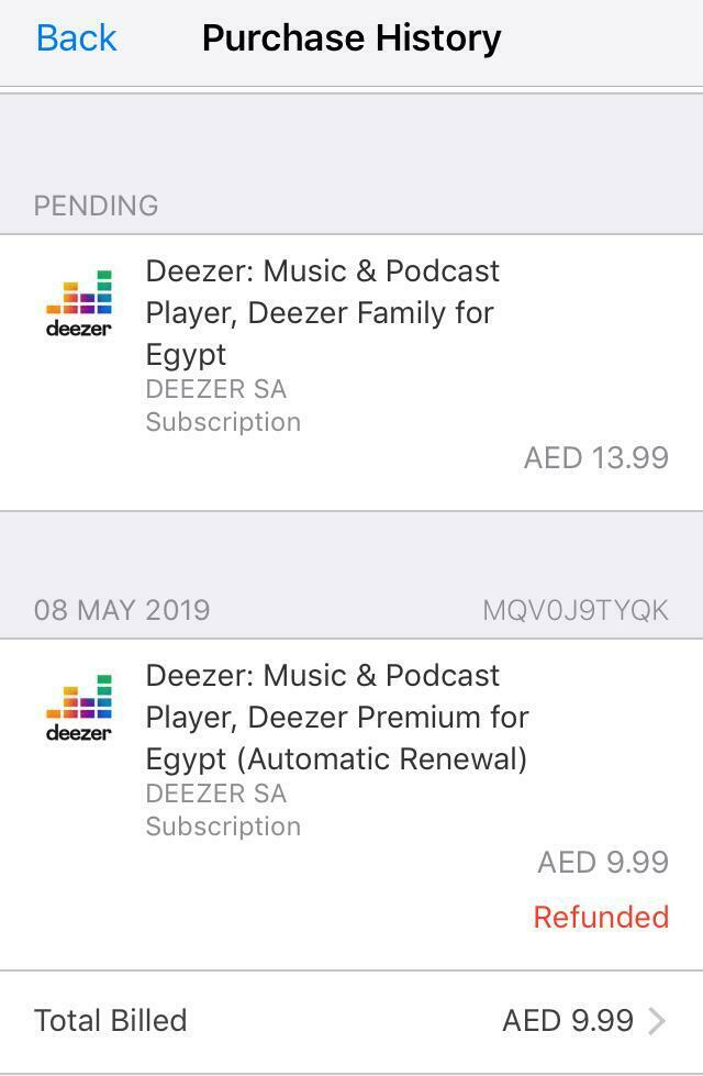Upgrade is still pending    Why? | Deezer Community, bringing music