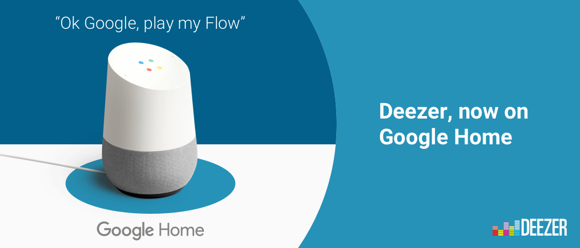 Deezer on Google Home UK now available