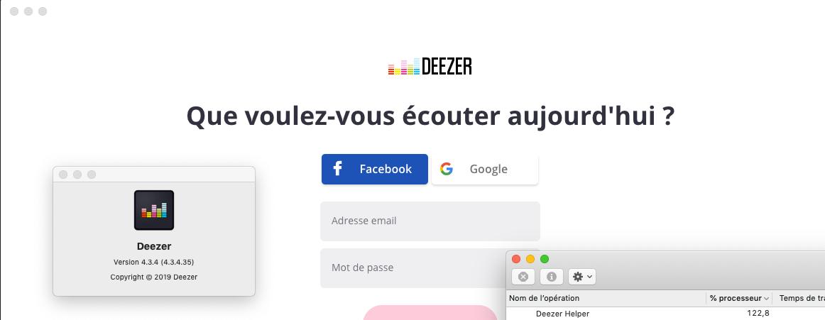 Deezer App Big CPU usage   Deezer Community, bringing music