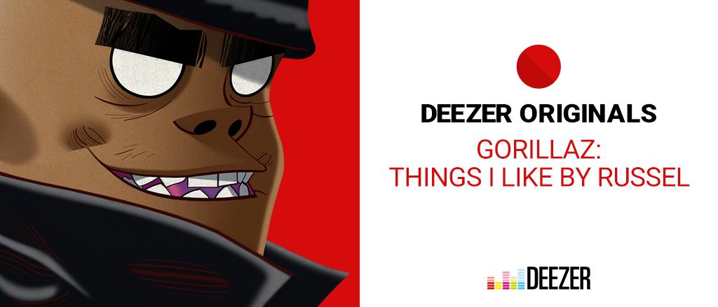 ▶ Deezer Original Launches New Gorillaz Podcast