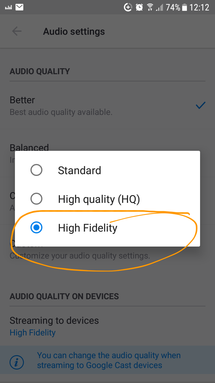 Poor HiFi quality streams   Deezer Community, bringing music