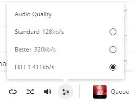 Hi-Fi / Flac for Premium+ price until 31/12/2017 on Desktop app