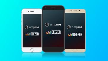 AmpMe Announces New Music Partnership with Deezer