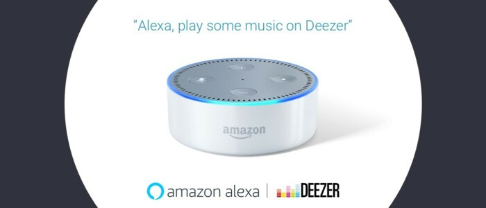 Now available - Deezer on Amazon Alexa