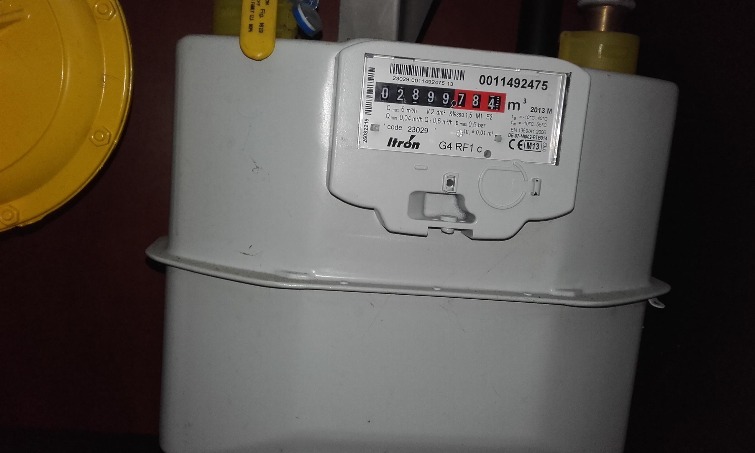 hoe gasmeter aflezen