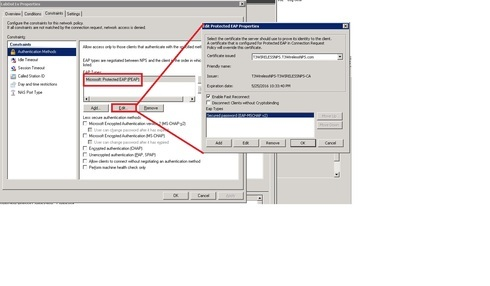Radius request to Active Directory Domain Controller running