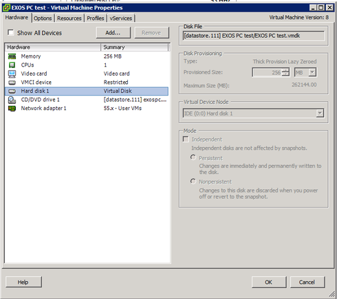XoS in Vmware ESXi   Extreme Networks Support Community