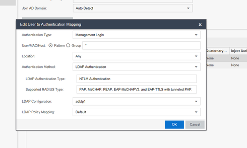 Log into switch with LDAP credentials | Extreme Networks