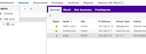 Status Monitoring of Windows 2016 from XMC via SNMP