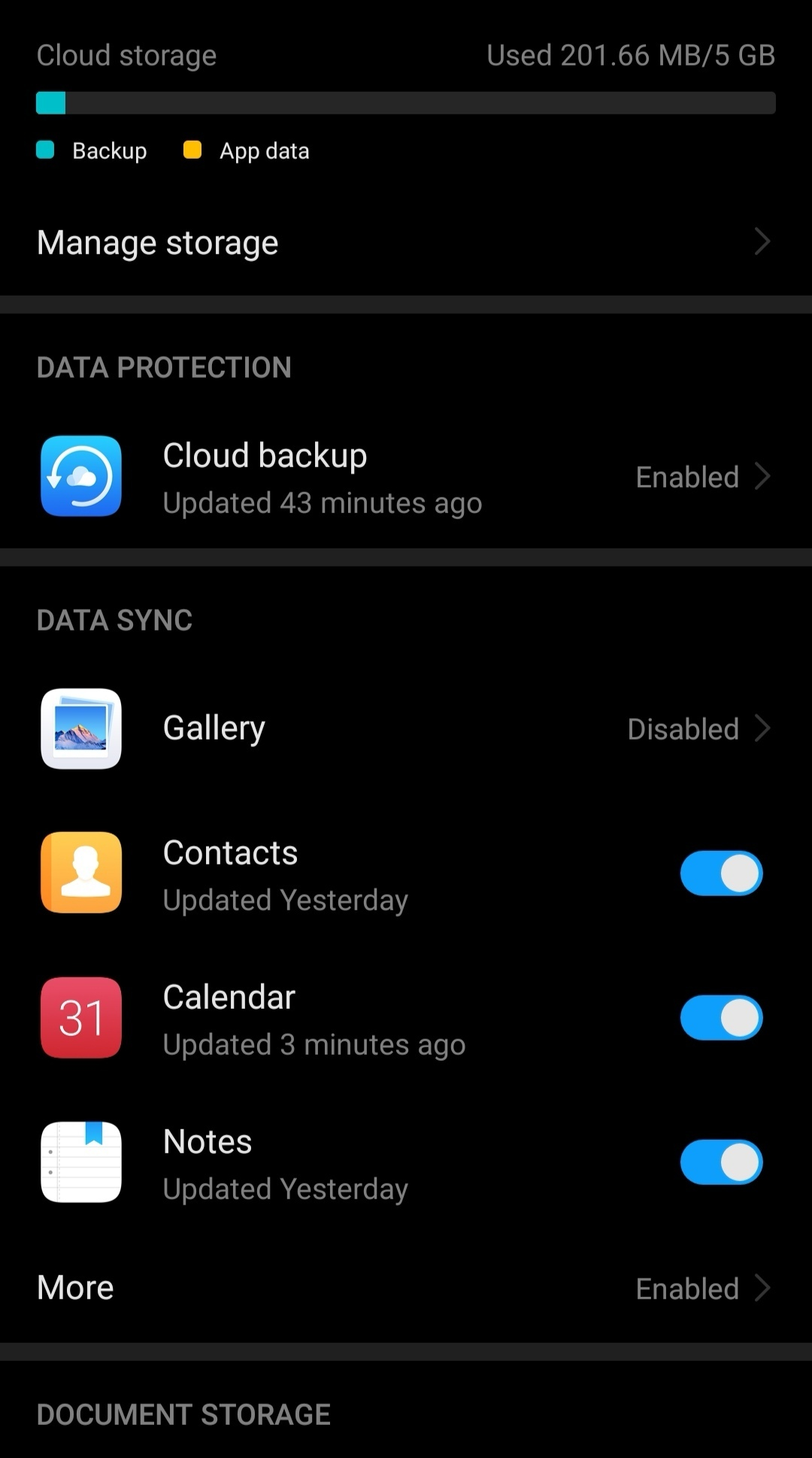 Backup to cloud - not enough space? | Official Huawei Community UK