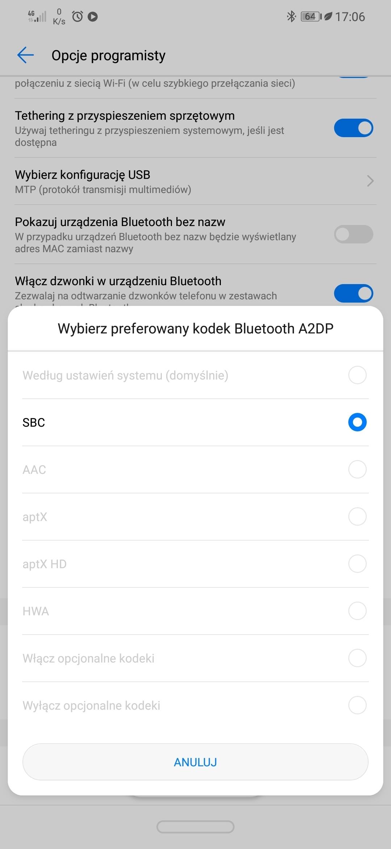 Bluetooth audio codec | Official Huawei Community UK