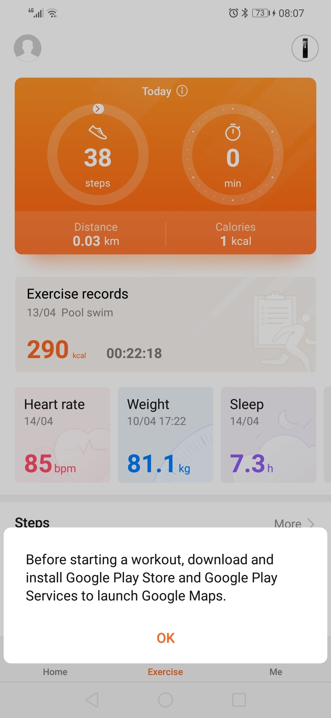 Huawei health and google maps | Official Huawei Community UK