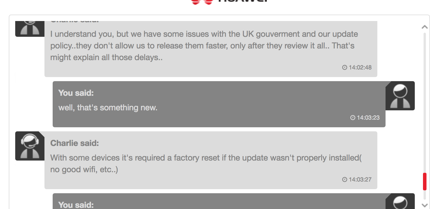 P10 (plus) software updates | Official Huawei Community UK