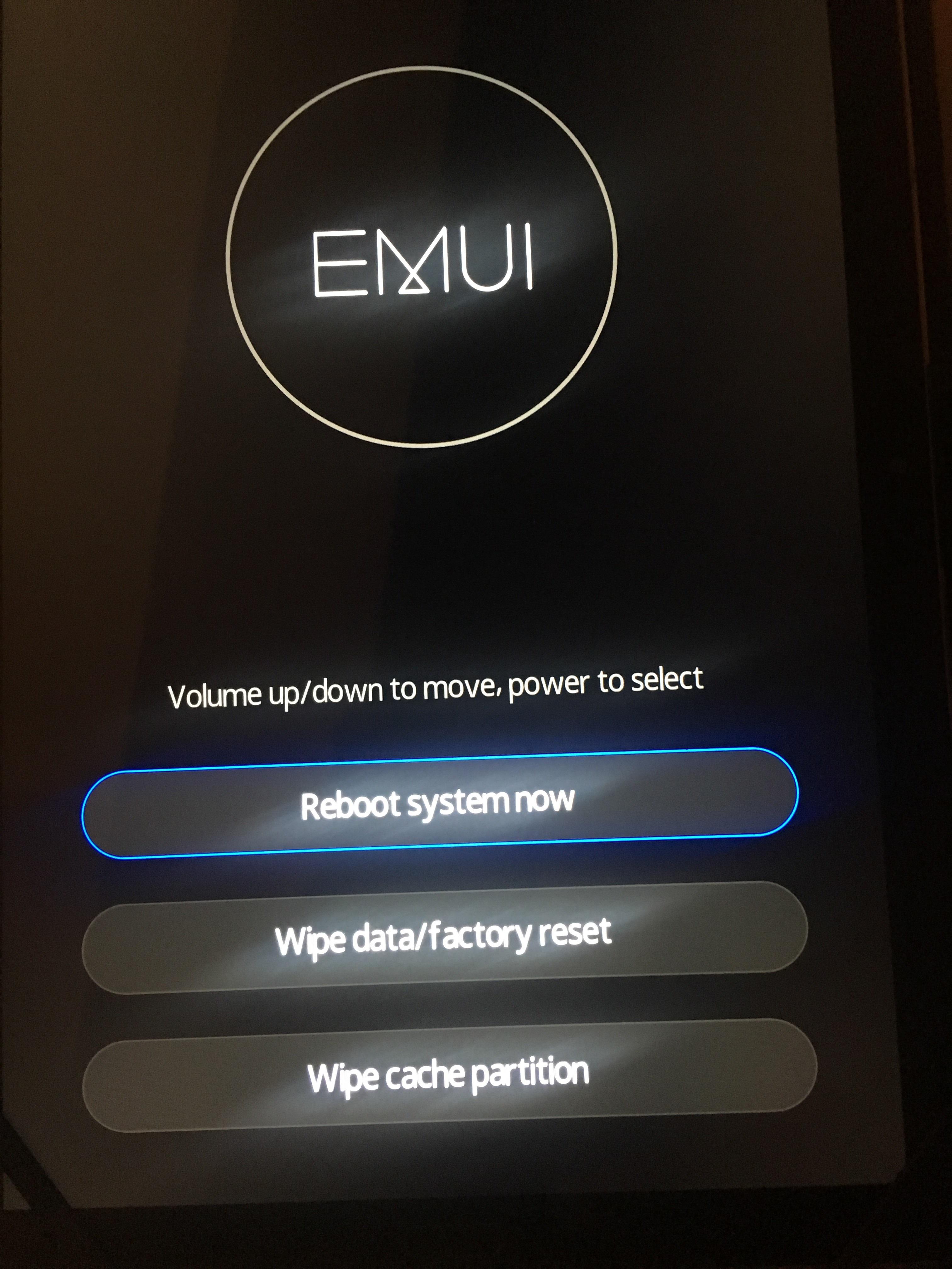 Mediapad M5 10inch corrupted EMUI update | Official Huawei