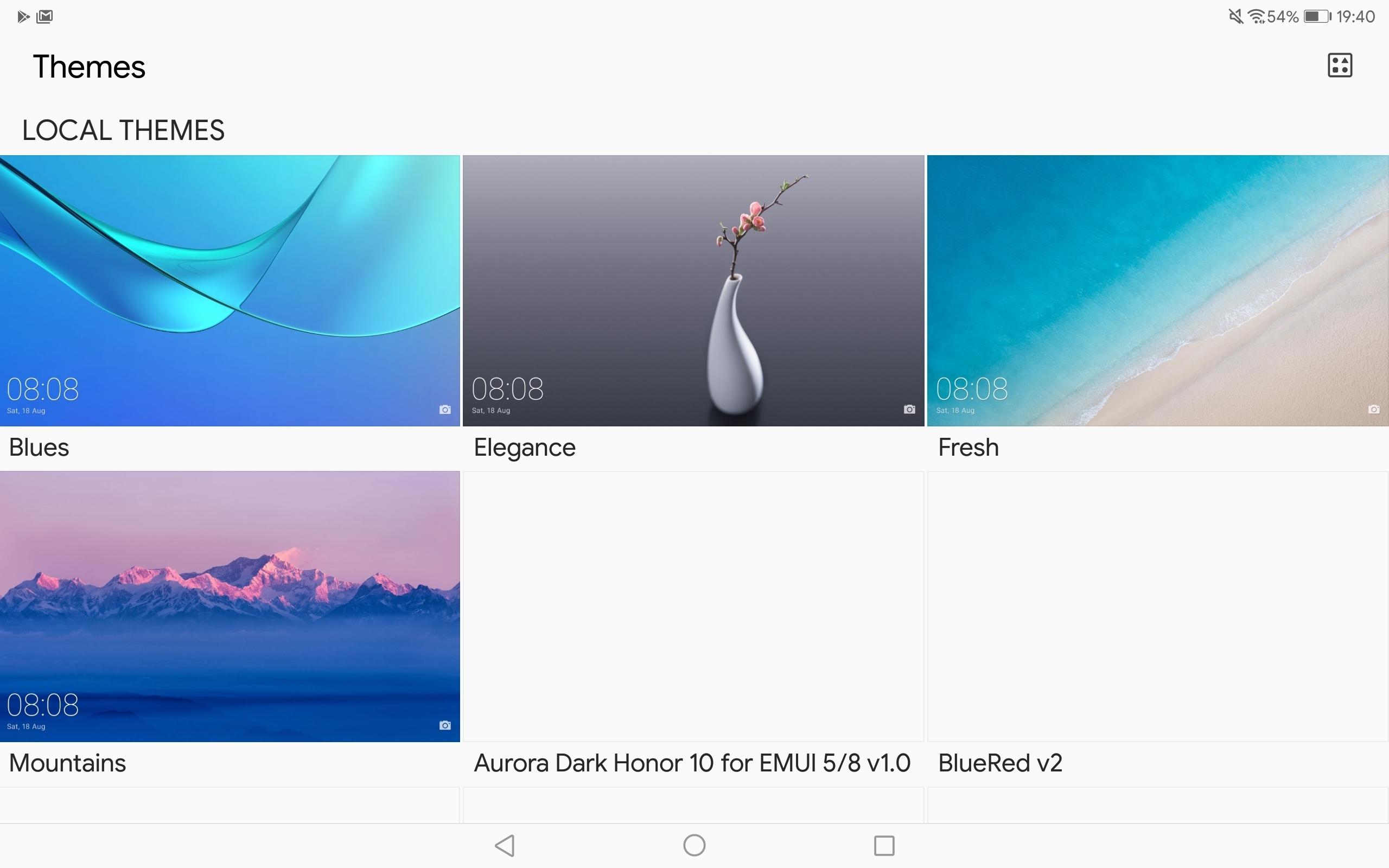 Mediapad M5 10 8 themes app | Official Huawei Community UK