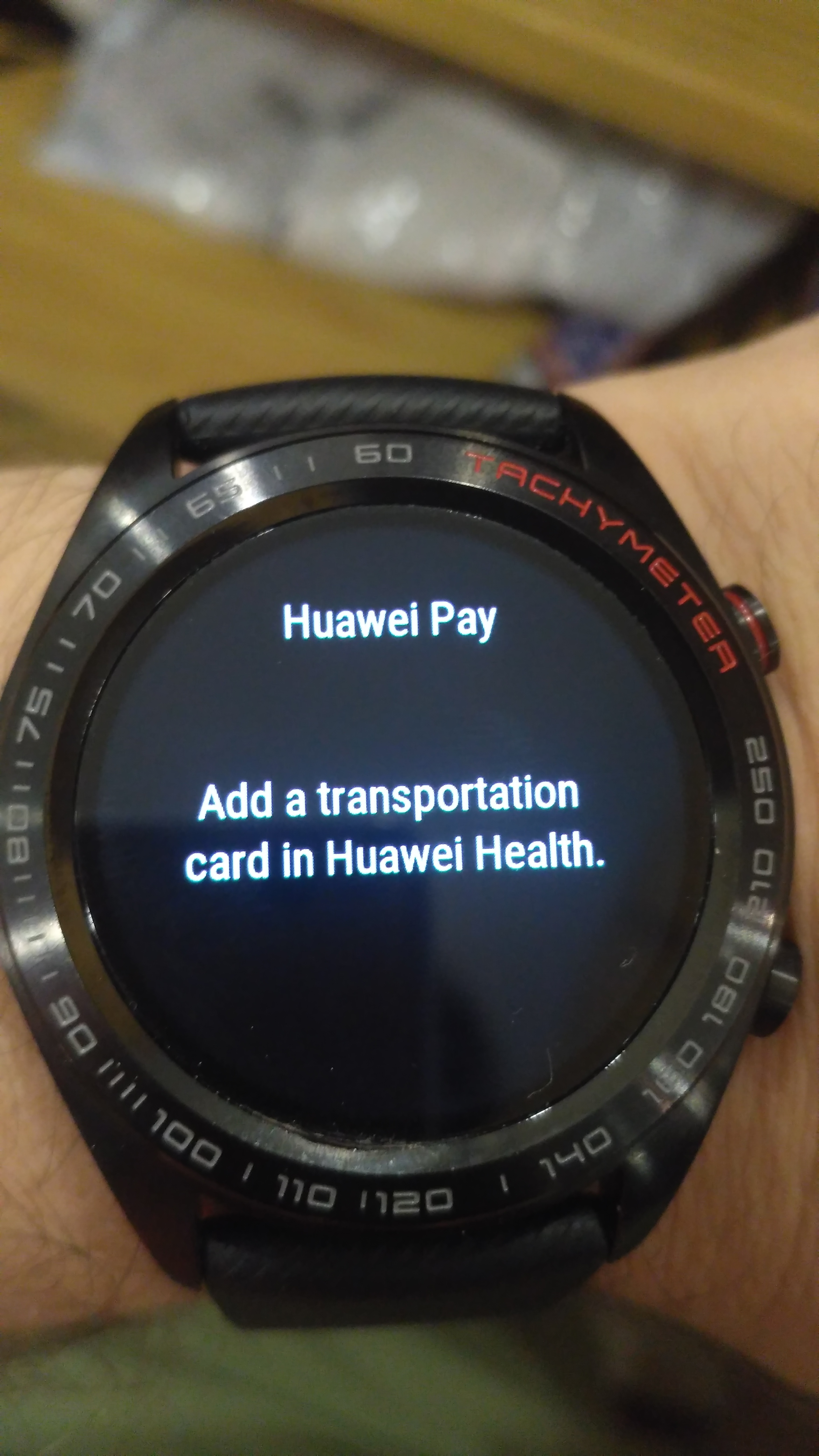 Honor Watch Magic NFC: How to add transportation card
