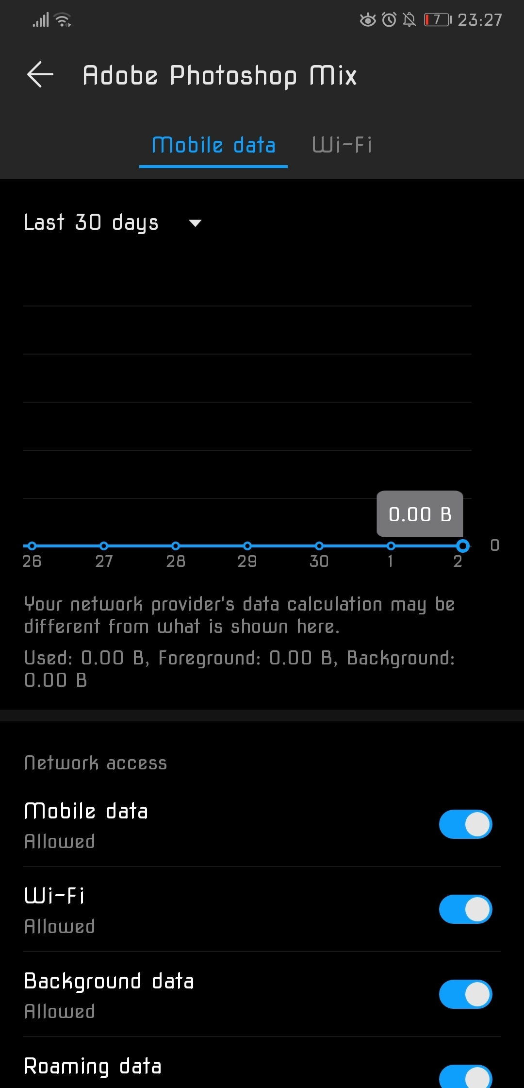 Restricting the cellular data usage to apps | Official Huawei