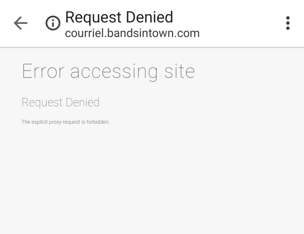 Error Message whne opening links in wifi | Official Huawei Community UK