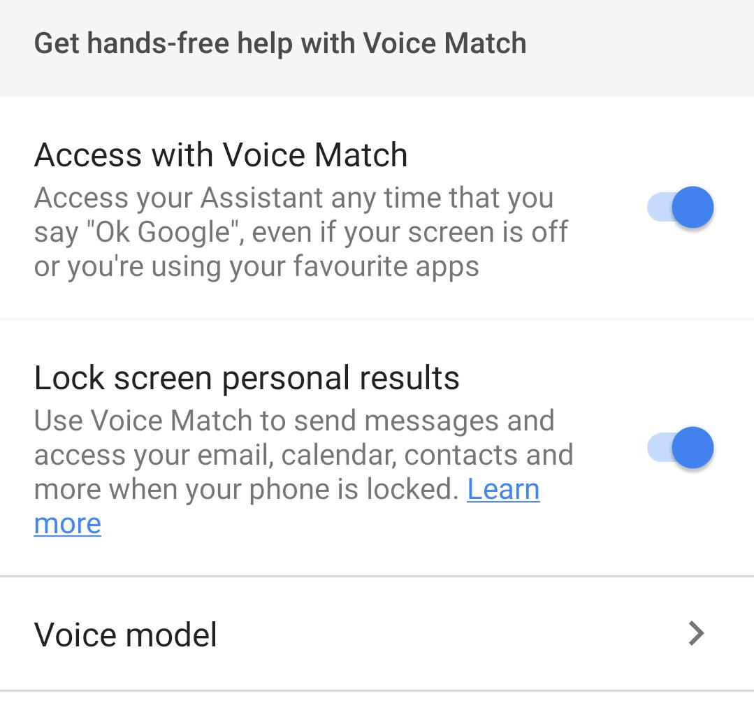 Can ok google unlock phone