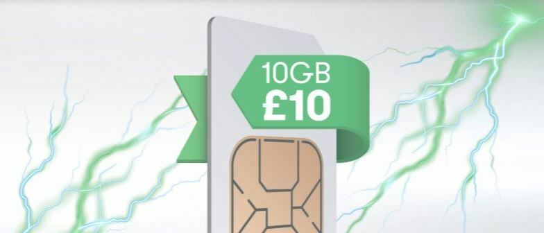 Fancy 10GB for £10? It's the best SIM only deal around…