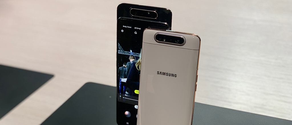 Hands on with the Samsung Galaxy A80