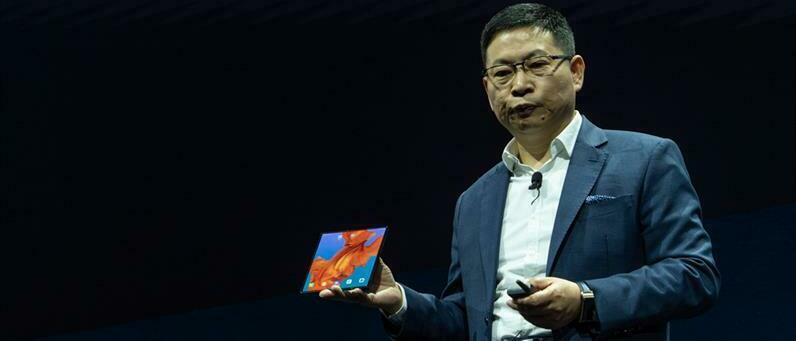 Meet the Huawei Mate X foldable phone