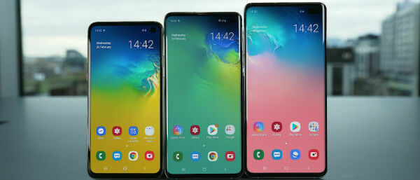 Samsung launches a trilogy of Galaxy S10 handsets