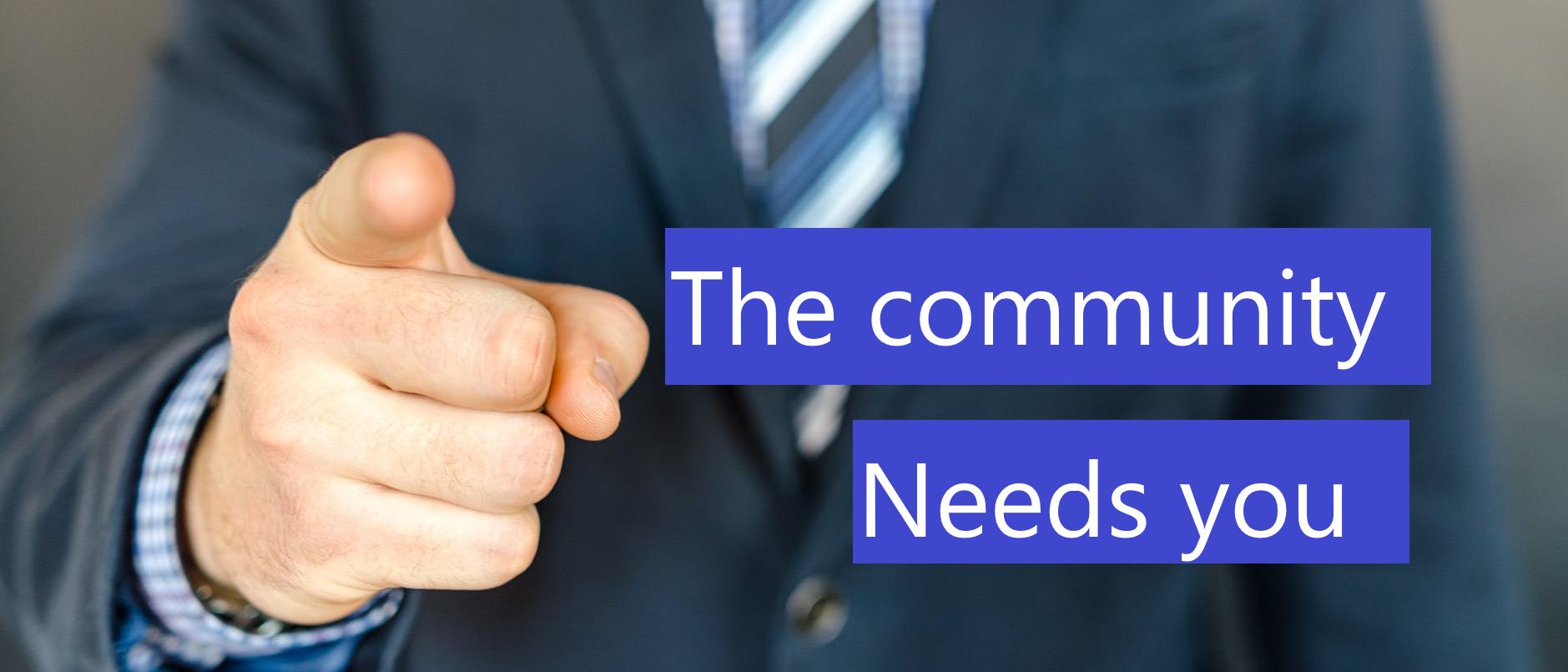 Help jij het community platform te verbeteren?