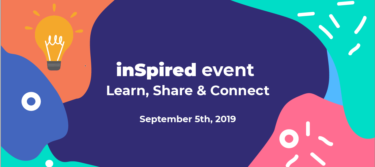 Check (and define!) the agenda of the inSpired Event 2019