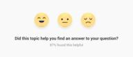 Topic helpfulness v2.0