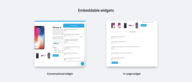 Embeddable Widgets Now Available For All Branded Customers!