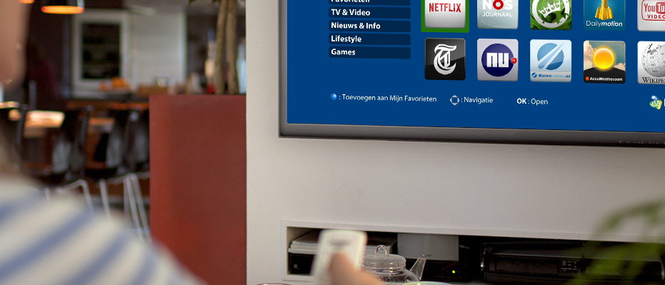 KPN introduceert Smart TV app