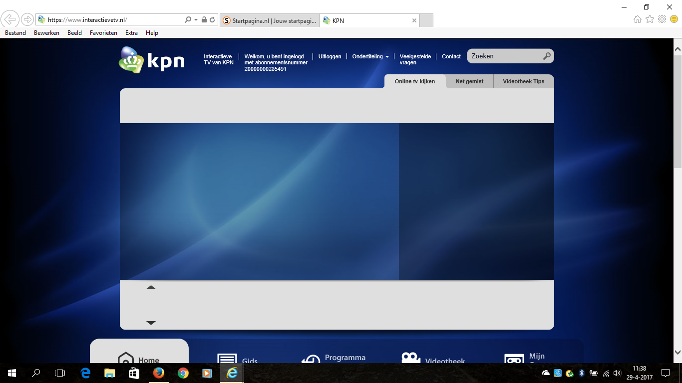 Itv Online Werkt Niet Meer In Edge Int Expl Kpn Community