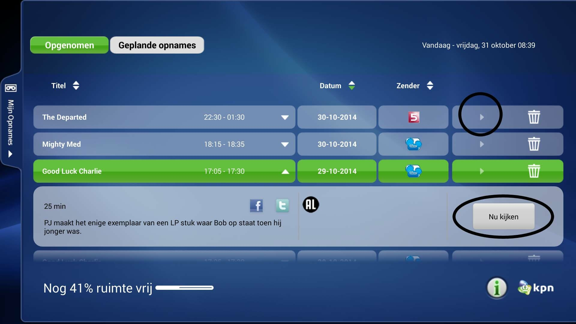 Hoe Opnames Kijken Op Itv Online Via Android Kpn Community