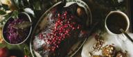Gebraden eend met granaatappelsaus