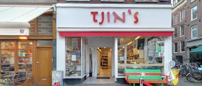 Tjin's: Tropische toko in de Pijp