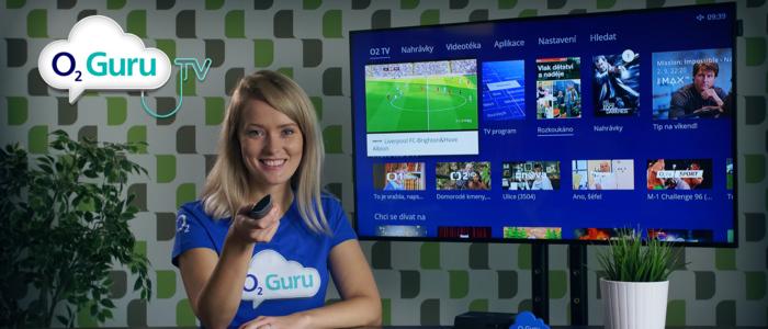 O2 TV: Vytvořte si vlastní seznam kanálů