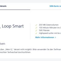 prepaid tarif ndern wechseln o2 loop smart zu smart. Black Bedroom Furniture Sets. Home Design Ideas