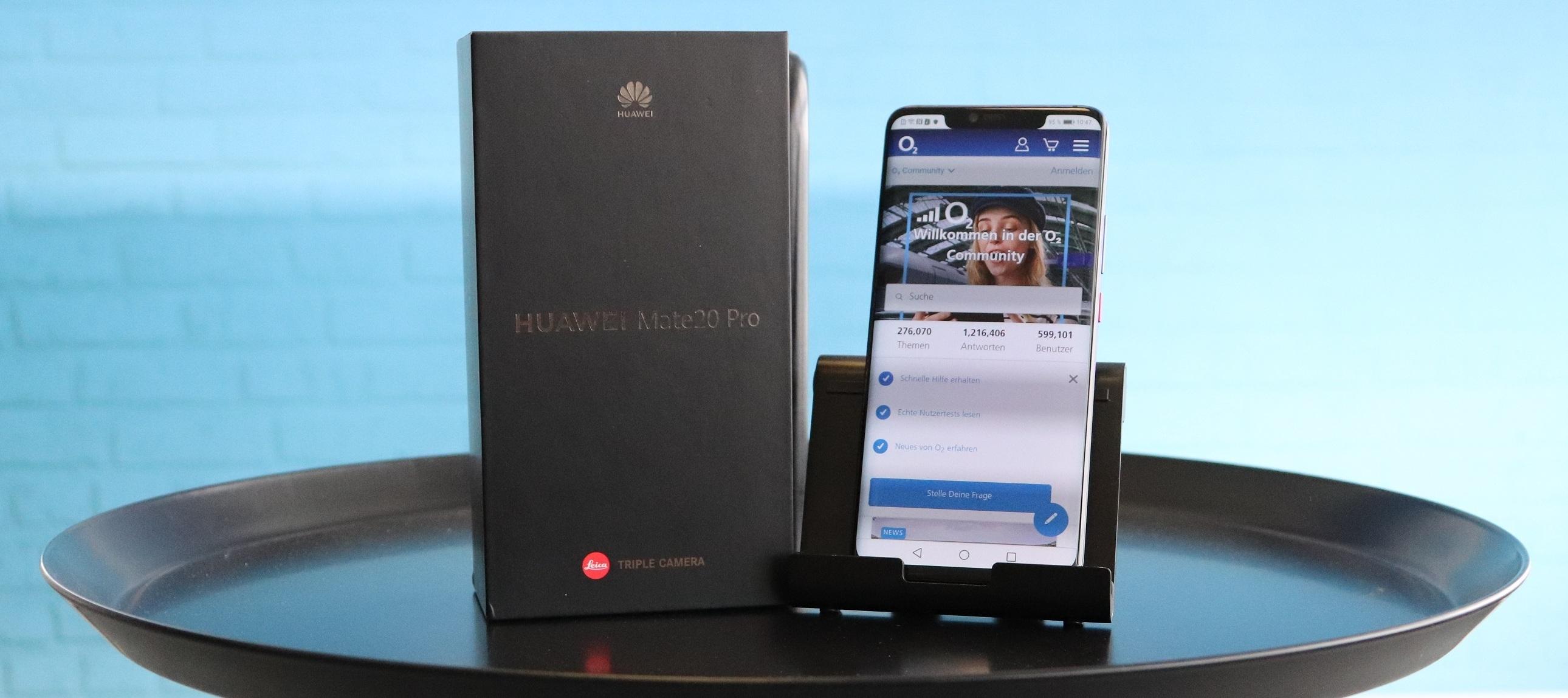 Huawei Mate 20 Pro Testgerät: Huawei, Huawei und du bist als Tester oder Testerin mit dabei