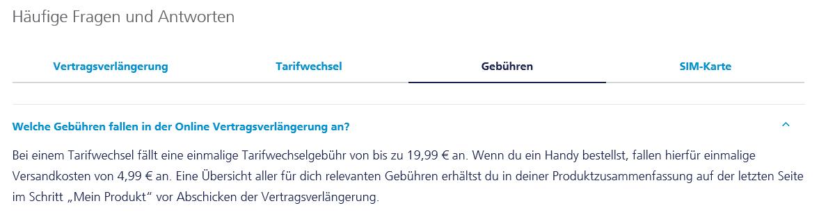 Tarifwechsel Online In Der Rechnung O₂ Community