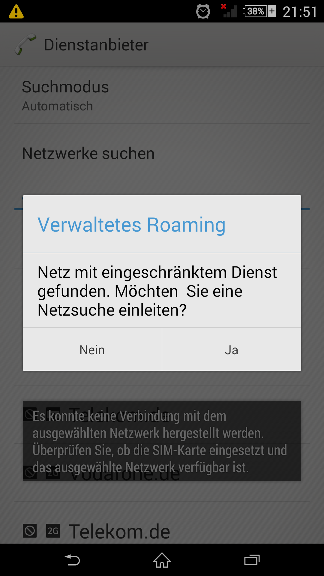Eplus Netzabdeckung Karte.Sony Xperia Z Verbindung Zu E Plus Nicht Möglich O Community