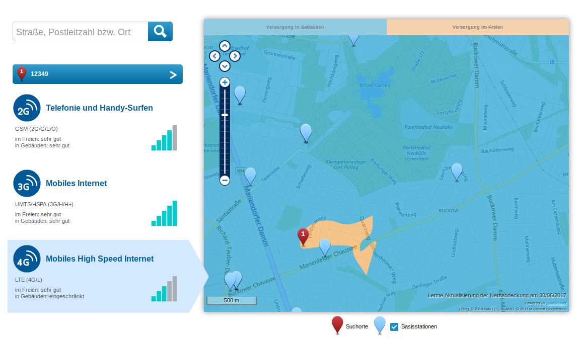 Lte Masten Karte.Lte Netzqualität In Berlin Und Allgemein Bei O2 O Community