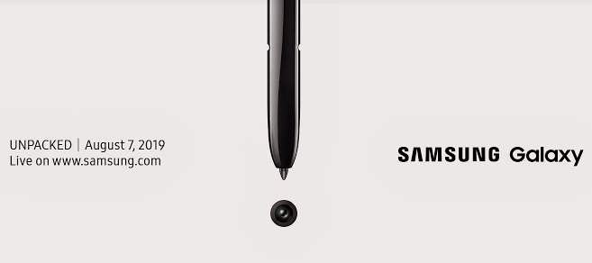 Countdown zum Unpacked Event: Samsungs Galaxy Note 10