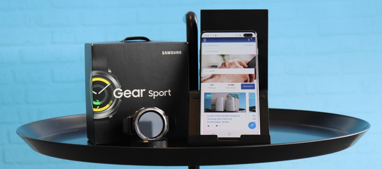 Samsung Galaxy S10+ und Samsung Gear Sport zusammen testen! Bewirb dich jetzt!