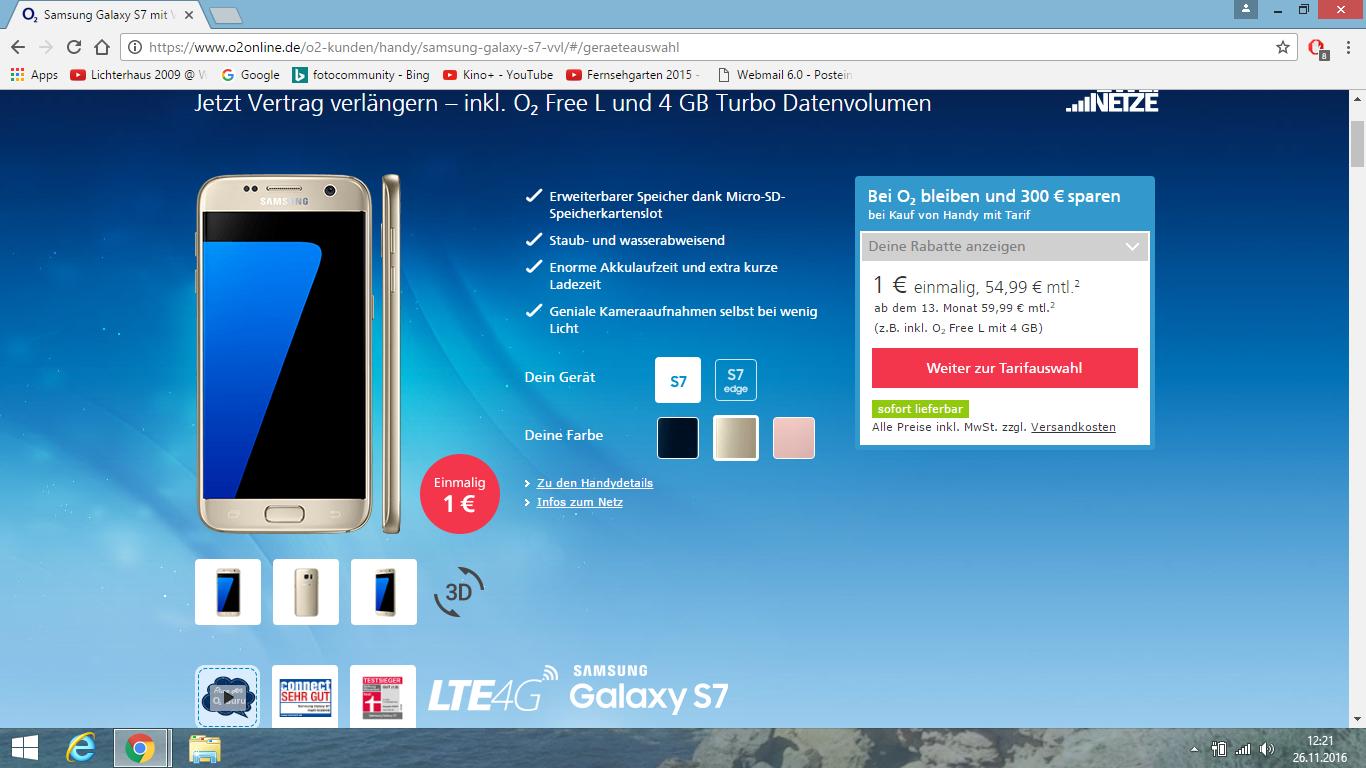 Ich Würde Gerne Meinen Vertrag All In L Als O2 Free L Mit Samsung