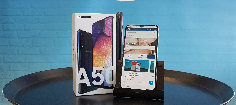 Samsung Galaxy A50 Testgerät - Begib dich als Smartphone-Tester/in in eine neue Galaxy!