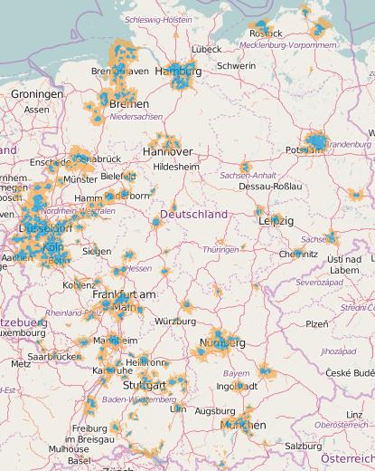 Eplus Netzabdeckung Karte.Benachteiligung Base Kunden O Community
